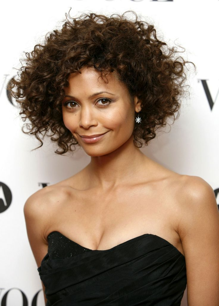 Airy Style for Short Curly Hair or Wavy Hair