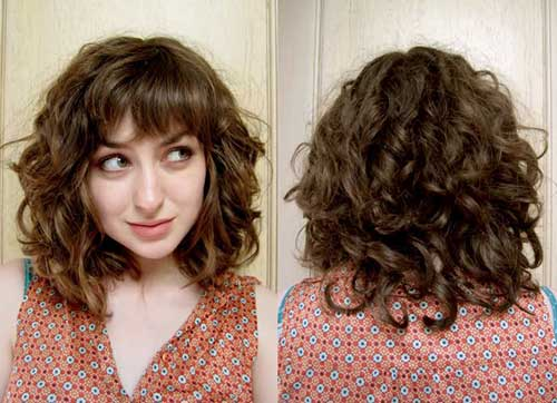 Curls for Short Straightened Hair or Straight Hair