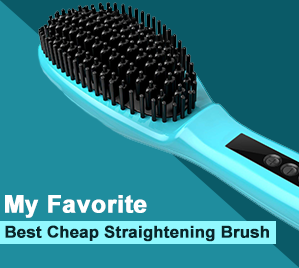 My Favorite Cheap Straightening Brush