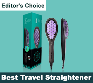 Best Travel Hair Straightener Brush